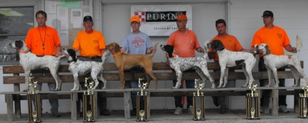 Bailey - 3rd Place, OH NSTRA Regional Elimination Trial, May 2009