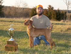 Case & Jamie Fountain - 1st Place Open Derby & Royal Rusty Beanie Trophy Recipient - CVC Spring FT 2011