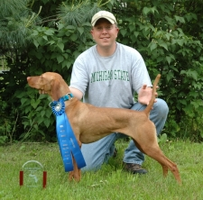 Tricky - 1st Place, Open Puppy, VCM Spring FT, April 2009 (First FT)